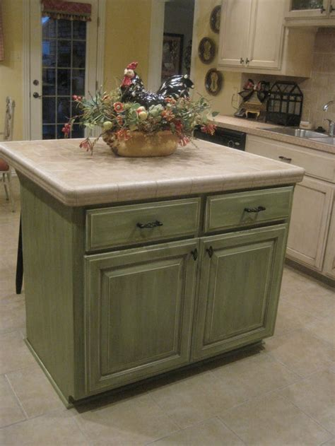green kitchen island glazed kitchen cabinets green kitchen cabinets pinterest cabinets portable kitchen island