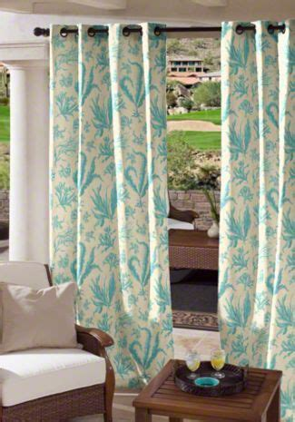 1000 ideas about outdoor drapes on patio