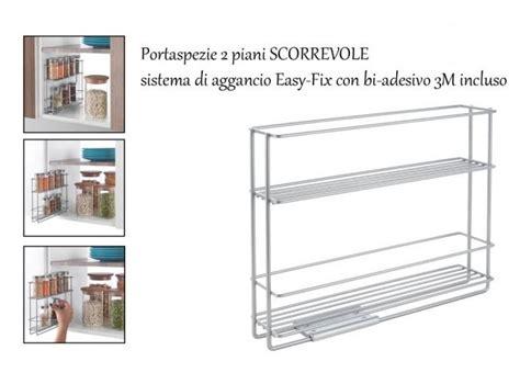Mensola Scorrevole by Mensola Porta Spezie Scorrevole Da Portina Casalinghi Shop
