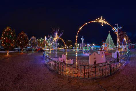 el paso christmas lights walk around the christmas display in downtown el paso el