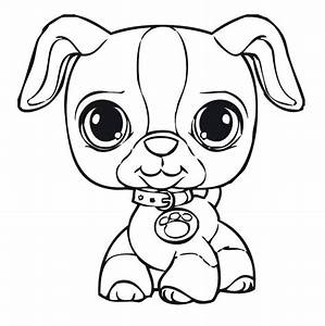 Lps Coloring Pages Littlest Pet Shop For Kids Free