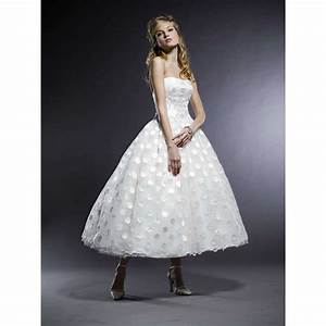 tea length wedding dresses for your 50s style wedding With 50s style wedding dresses