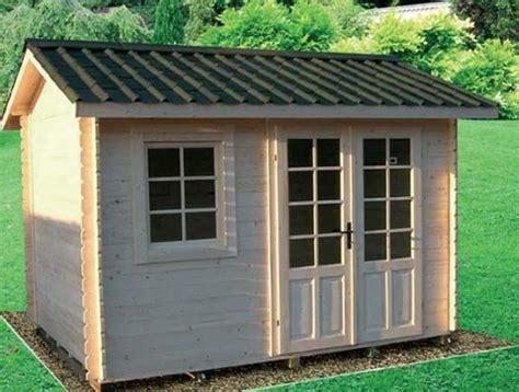 ripostigli in legno da giardino realizzare casette in legno da giardino