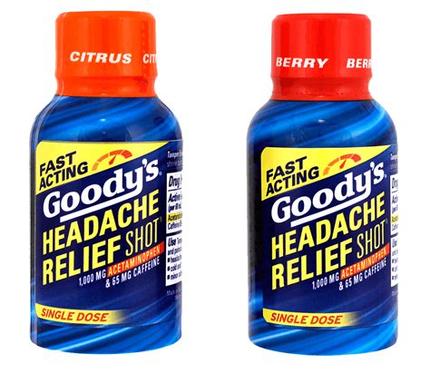 Goodys Headache Relief Shots