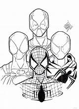 Spiderman Coloring Spider Pages Iron Cartoon Deadpool Drawing Printable Venom Minecraft Colouring Spidermen Four Suit Clipartmag Getcolorings Getdrawings Draw Colorings sketch template