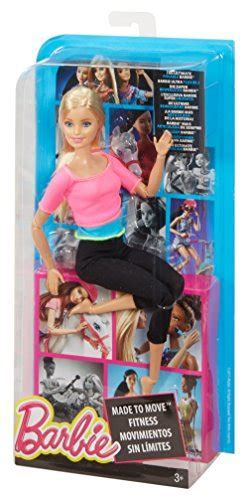 Barbie Made to Move Barbie Doll, Pink Top   Buy Online in