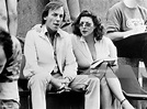 Actress Carol Drinkwater and actor Christopher Timothy ...