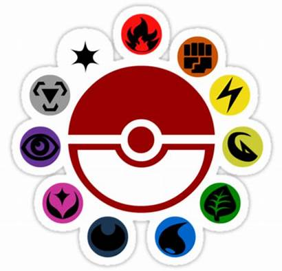 Pokemon Types Symbols Type Combinations Baffling Many