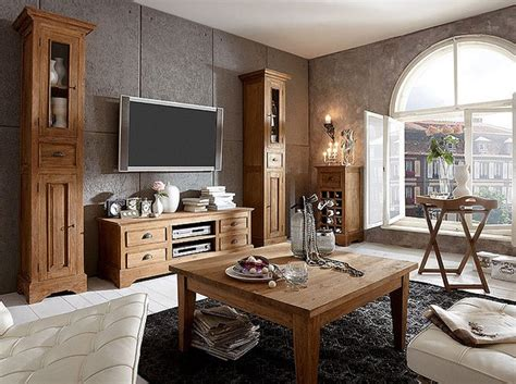 wohnzimmer holzmoebel