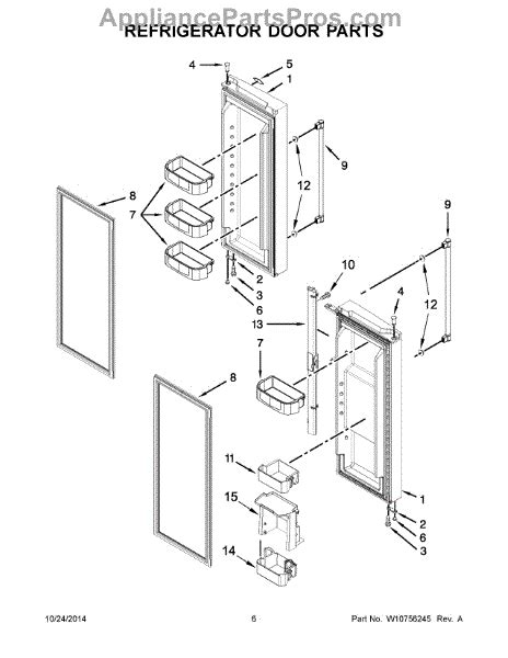 parts  maytag mffdrm refrigerator door parts