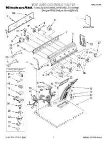 Kitchenaid Parts Dryer by Parts For Kitchenaid Kgys750gq1 Dryer Appliancepartspros