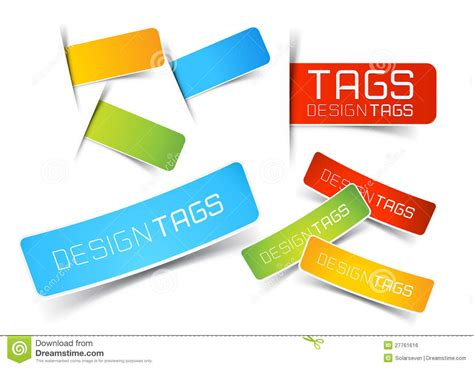 Design Tags And Labels Stock Vector Illustration Of Smart