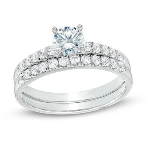ct tw certified canadian diamond bridal set