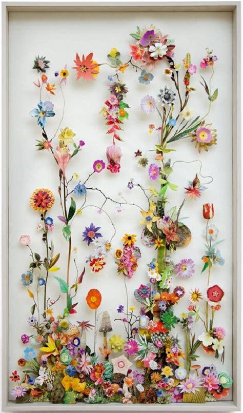 flower collages  anne ten donkelaar artisticmoodscom