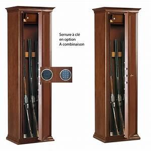 Armoire Fusils Evolution 7 Fusils Habillage Bois Cl