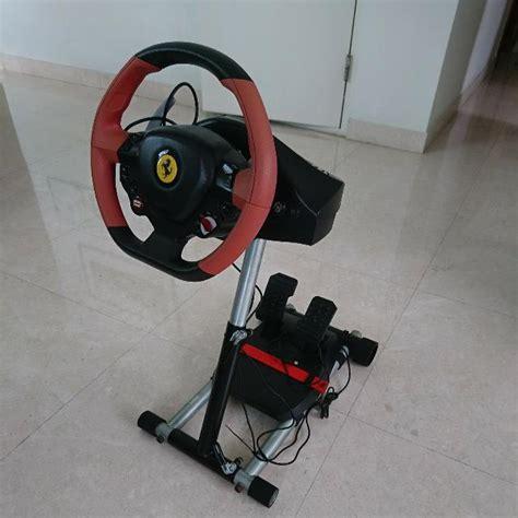 Là où le thrustmaster ferrari 458 spider racing wheel frappe moins fort, c'est sans doute au niveau de son pédalier. Super Car: Thrustmaster Ferrari 458 Spider Racing Wheel Xbox One S