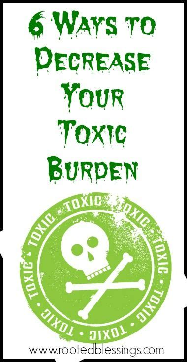 6 Ways To Decrease The Toxic Burden On Your Body Awesome