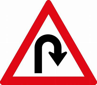 Sign Road Svg Right Hair Bend W206