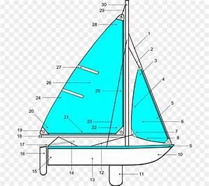 Sailboat Sailing Boating Clip Art