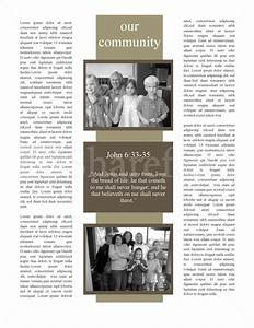 mission church newsletter template newsletter templates With missionary newsletter templates