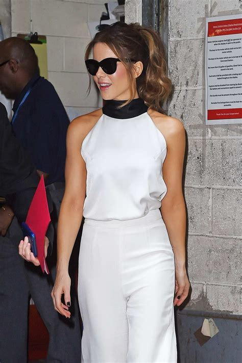 Kate Beckinsale spotted on her way to Live With Kelly and ...
