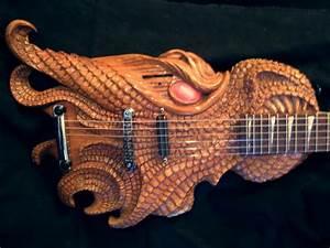 Dragon Head Guitar