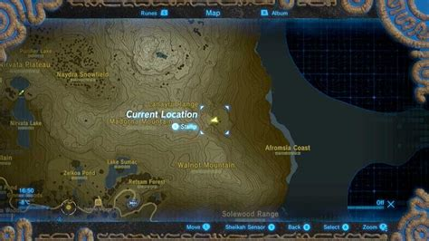 shrine zelda breath wild climbing secret boots weapon map tahno ah cedars quests rare guide guides game