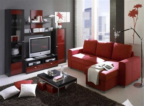 Red Grey White Living Room : Red Black And Grey Living Room Ideas (red Black And Grey