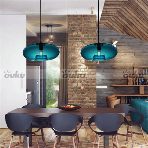 contemporary dining room ceiling lights blue glass pendant l modern bubble design ceiling light