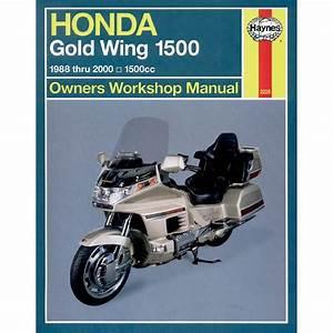 Haynes Repair Manual - Honda Gl1500 Gold Wing