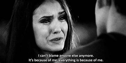 Nina Hurt Lonely Cry Vampire Diaries Quotes