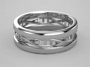 dna ring in sterling silver dna rings and double helix With dna wedding ring