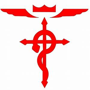 Full Metal Alchemist - Cross logo by TheEternalManga on ...