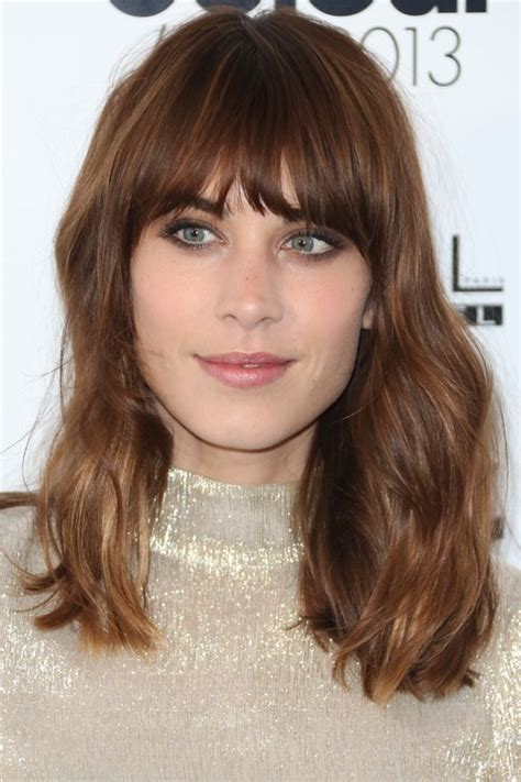 Hairstyles With Fringe by 25 Best Fringe Hairstyles To Refresh Your Look