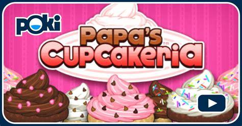 papa s cupcakeria joue gratuitement sur jeuxjeuxjeux fr