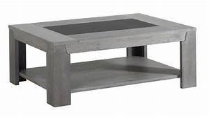 Table Basse Chene Gris : table basse ch ne gris bella ~ Teatrodelosmanantiales.com Idées de Décoration