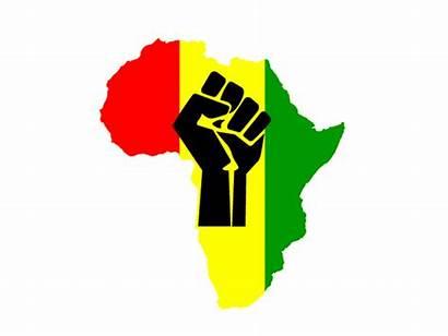 Fist African Power Pan Colors Shirt Tee