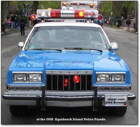 dodge diplomat  plymouth gran fury police cars