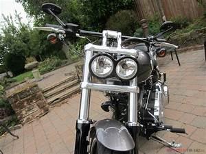 Harley Davidson Softail Breakout 2015 250 Miles Twin Headlight Conversion