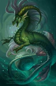 Zodiac Dragon . Capricorn by The-SixthLeafClover on DeviantArt