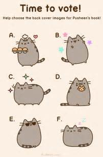 plusheen cat pusheen the cat on quot help choose the back cover