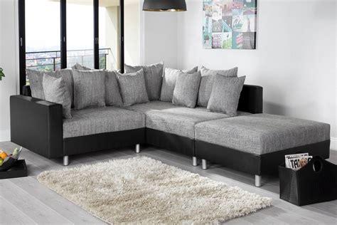 canapes d angles canapé d 39 angle modulable loft noir gris