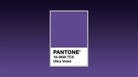 Couleur été 2018 La Couleur Pantone 2018 C Est L Ultra Violet Venez La D 233 Couvrir