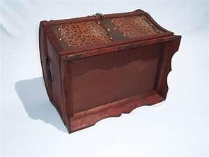 Cd Box Holz : 191 holz kunstleder box truhe schatzkiste holzkiste antikdesign dvd cd box 32x2 ebay ~ Whattoseeinmadrid.com Haus und Dekorationen
