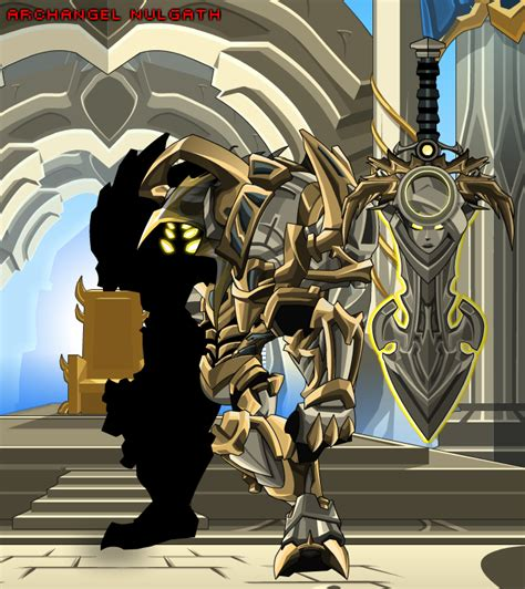 Archangel Nulgath (Monster) - AQW