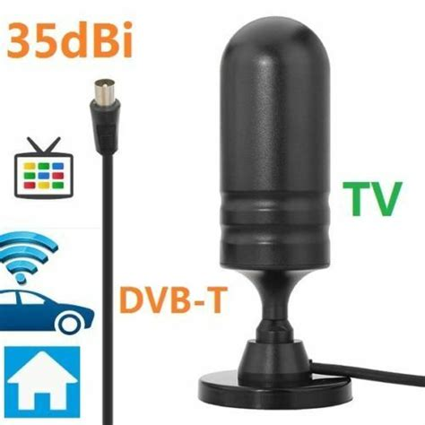 Antenna Tv Interna by Antenna Tv Portatile Esterna Per Decoder Digitale