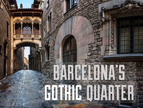 Barcelona's (Fake?) Gothic Quarter | TravelGeekery
