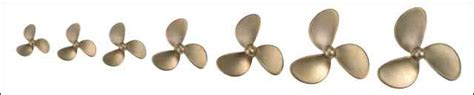 Model Boats Propellers by Miniature Steam Models