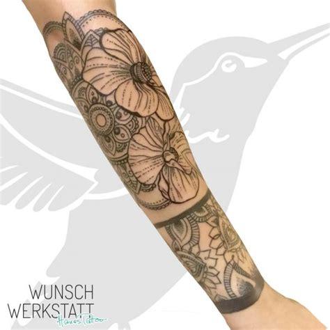 arm blumen tattoos wunschwerkstatt