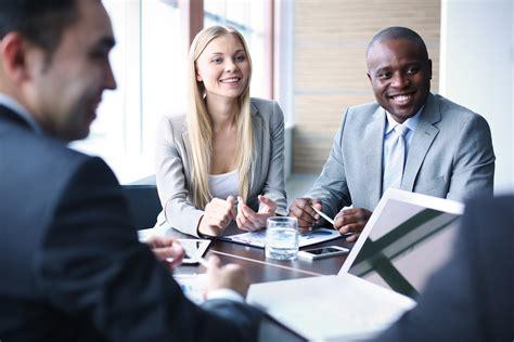 image  business people listening  talking